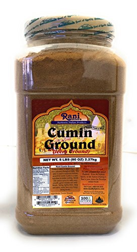 Rani Cumin Pet (Net Wt. 5lbs (80oz)) by RANI BRAND AUTHENTIC INDIAN PRODUCTS