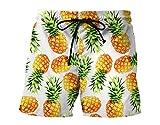 #7: RAISEVERN Mens Swim Trunk Quick Dry Print Boardshorts Summer Beach Short With Pockets