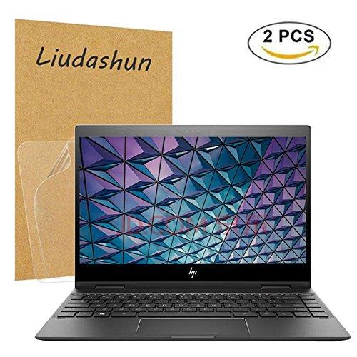 HP ENVY x360 13 ag series Screen Protector,HD Clear LCD Anti-Scratch Anti-Fingerprints Guard Film For 13.3'' HP Envy x360 13-agXXXX Series (13-ag0000 to 13-ag9999) Laptop(2-pack) by Liudashun