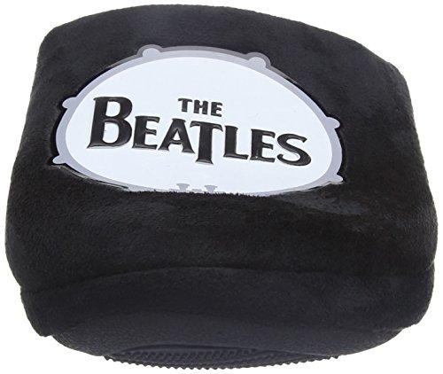 Bafiz the Beatles Drum Slipper, Pantuflas para Hombre Negro (Black 005)