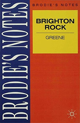 Book cover for Brighton Rock