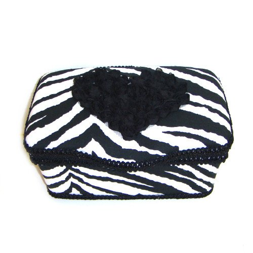 Black and White Zebra Animal Print Nursery Boutique Baby Wip