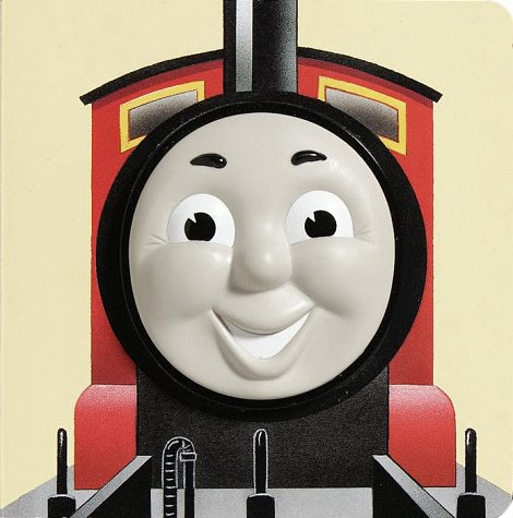James the Red Engine (Thomas Face Board Books)