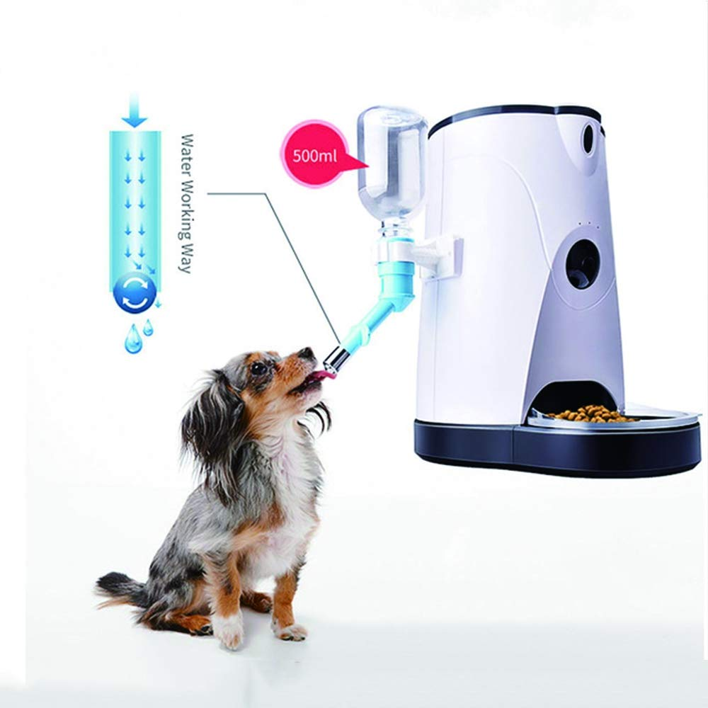 4L Cat and Dog Automatic Pet Feeder, Mobile APP Remote Operation Cat Dog Water and Food, Pet Food Dispenser
