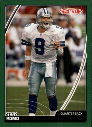 (2007 Topps Total Football Card #290 Tony Romo)
