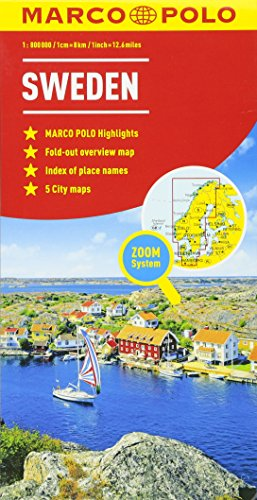 Sweden Marco Polo Map (Marco Polo Maps)...