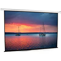 VIVO 100 Electric Motorized Projector Screen 100 inch Diagonal Auto with Remote 4:3 Projection HD (PS-E-100E)