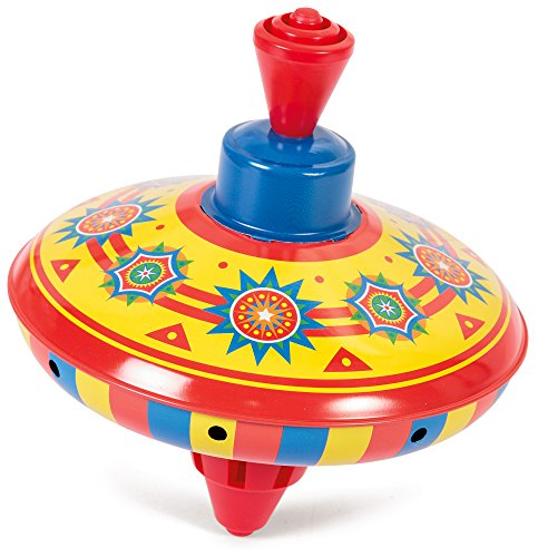 Top Spin (Mini Tin Top (Sold Individually - Colors Vary))