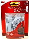 Tools & Hardware : Command 12 Large Utility Hooks