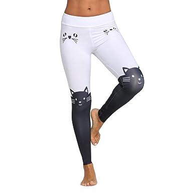 Innerternet Legging Sport Pantalon De Yoga Coutures Mode Femmes Leggings  Taille Haute ÉLastique Yoga Fitness Sports 26db70345d4