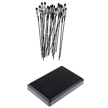 Sharplace 20pcs Clip Pinza de Cocodrilo para Colorear Modelos con ...