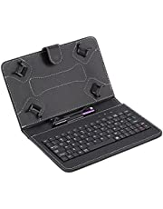 Foldable Keyboard With PU Leather Case Cover
