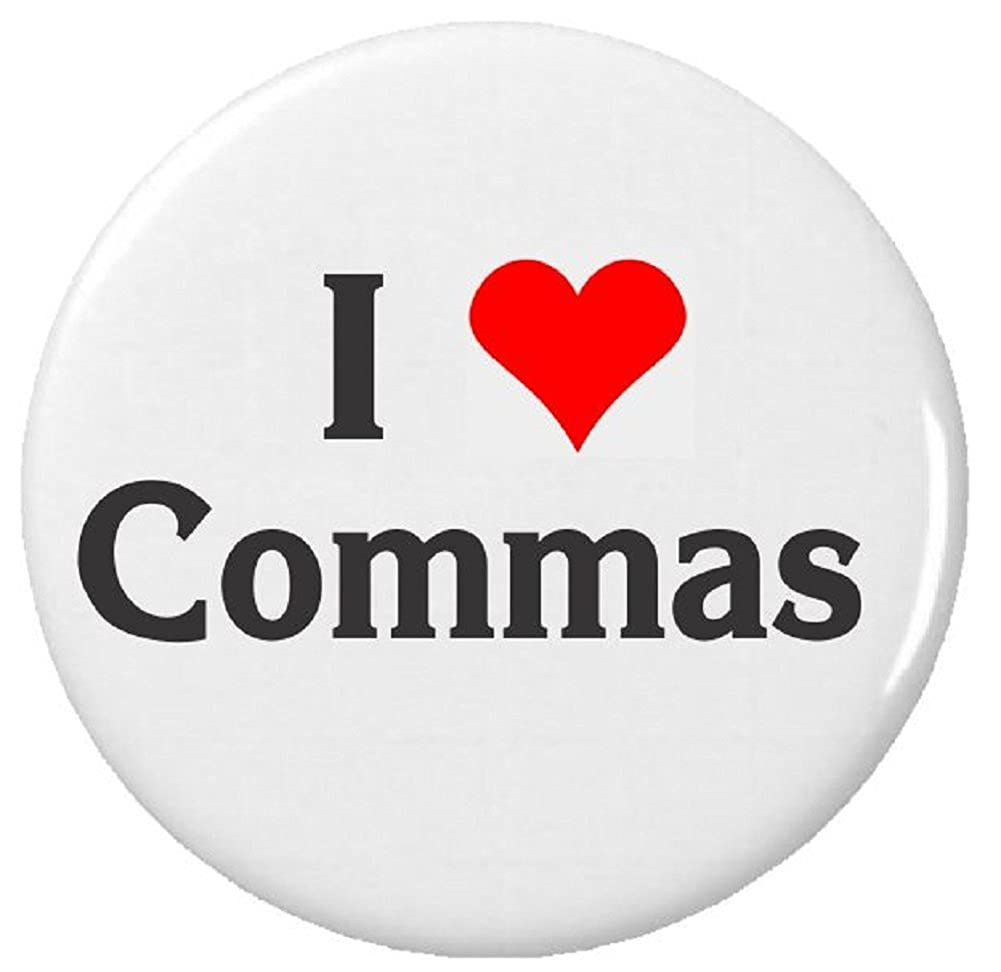 Image result for i love commas