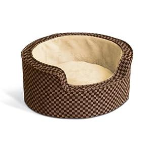 K&H Round Self-Warming Comfy Sleeper