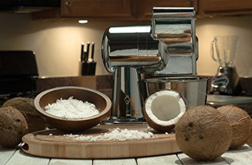 Grandma Ann's Electric Grater for Coconut, Potato, Cassava, and Cheese Grater!