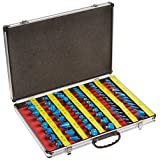 Pitbull CHIFRB036 1/4-Inch Shaft Tungsten Carbide Router Bit Set with Case, 66-Piece