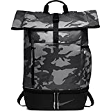 NIKE Sport All Over Print Golf Backpack, Anthracite/Black/Anthracite