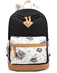 School Backpack Travel Rucksack College Bookbags by YFang perfect for Teen Girls Women Fits 15.6inch Laptop