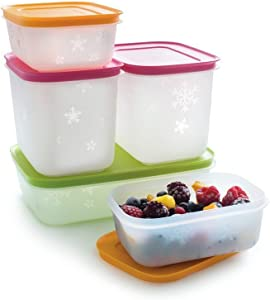 Tupperware Freeze It Starter Set 2X 1,9 Cup, 2X 4.6 Cup, 1x 4.2 Cup
