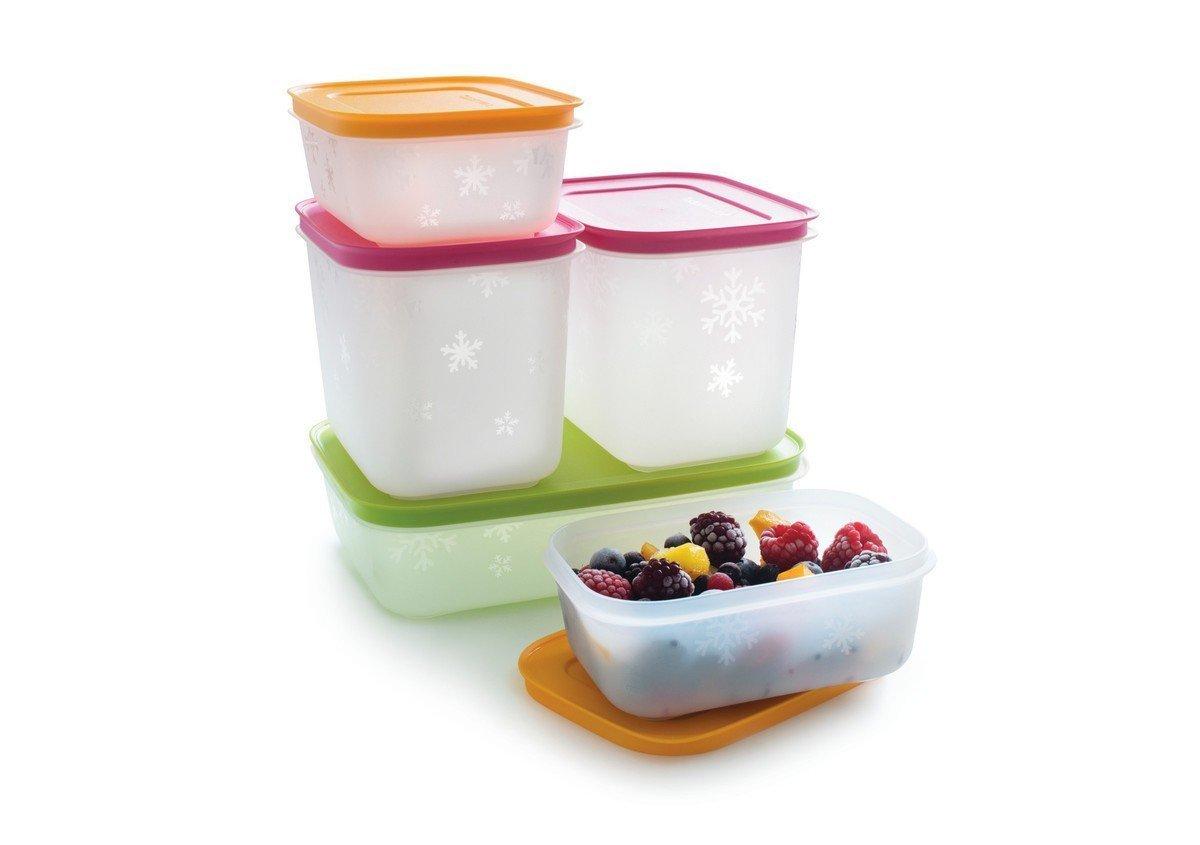 Tupperware Freeze It Starter Set 2x 1 9 Cup 46 Large Summer Fresh 4pcs 18l Multi Colour 1x 42 Kitchen Dining
