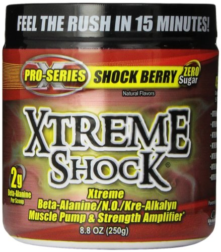 XTREME SHOCK BERRY 45/SRV, 8.8oz