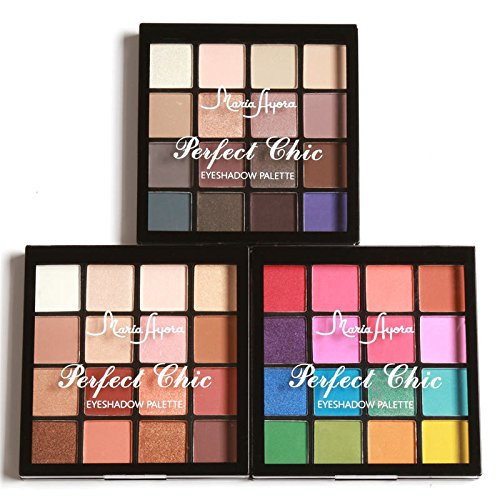 Eyeshadow Palette 16 Colors Eye Make up Easy To Wear Glamorous Eye Shadow Shimmer Colors - Lara Shop Costume