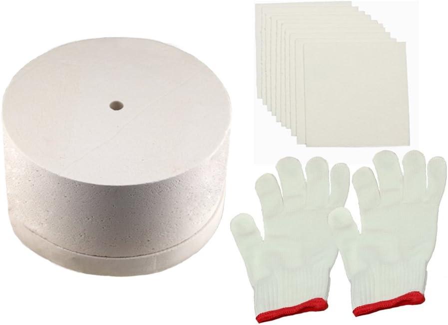 Grande microondas horno horno de fusión de vidrio Kit para 3piezas/set
