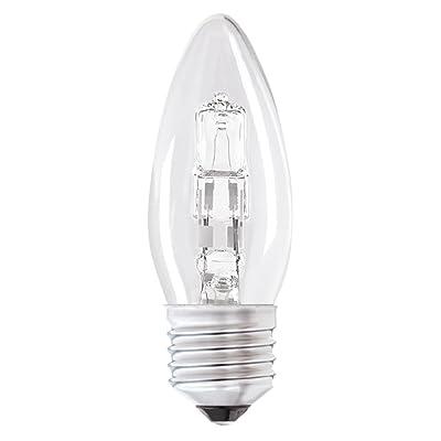 état 28shcesc1pk12Bougie halogène ampoules E27, 28/37W, Lot de 12