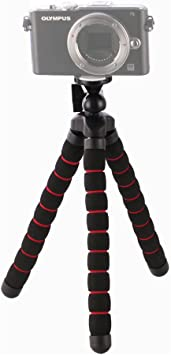 Navitech Lightweight Aluminium Tripod Compatible with The Canon EOS M5 Camera