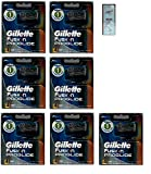 Fusion Pro-glide Refill Cartridge Blades, 28 count , (7 packs of 4) Made In Germany w/ Free Loving Care Trial Size Conditioner