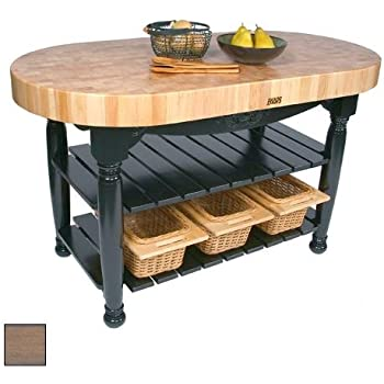 Amazon Com Harvest Table Kitchen Island Useful Gray Stain H