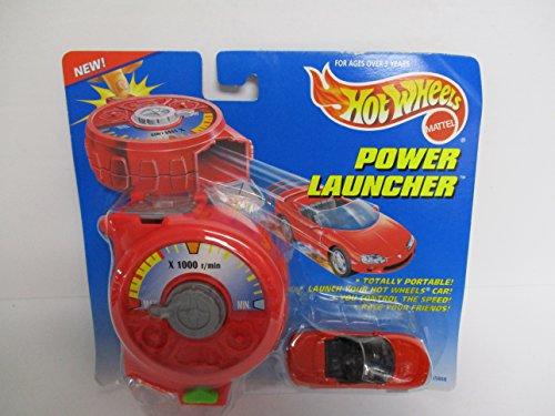 1997 Hot Wheels Power Launcher Red Camaro diecast car (Camaro Detail Set)