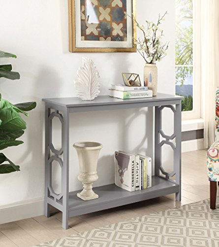 gray console table - 9
