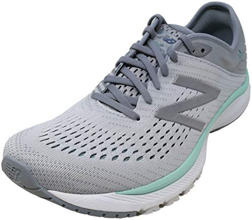 New Balance Women's 860v10 Running Shoes, Extra Wide, Steel Light Aluminum Light Reef, Size