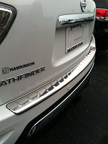 - NEW OEM 2017-2018 NISSAN PATHFINDER STAINLESS / CHROME BUMPER PROTECTOR