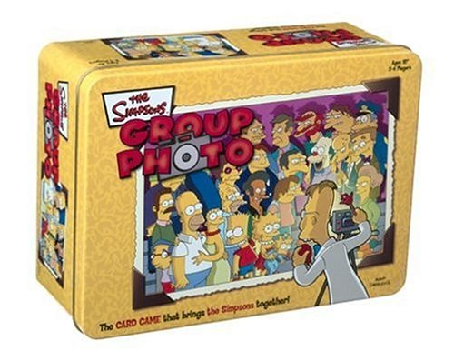 Group Photo: The Simpsons in a Tin Gamehttps://amzn.to/2FHF50A