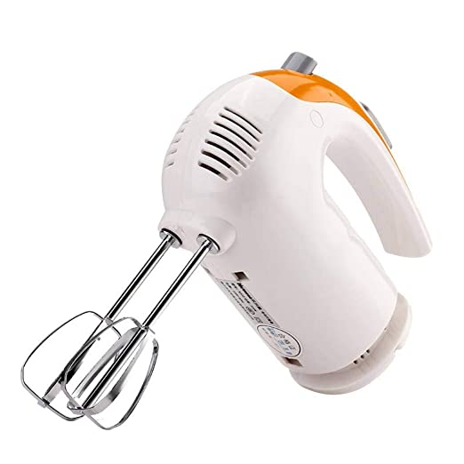 Amazon.com: Razeze Hand Mixer Electric 5 Speed Hand Mixer Stainless Steel, Turbo and Easy Eject Button: Home & Kitchen