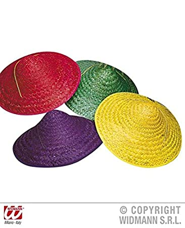 STRAW VIETKONG HAT 4 colours