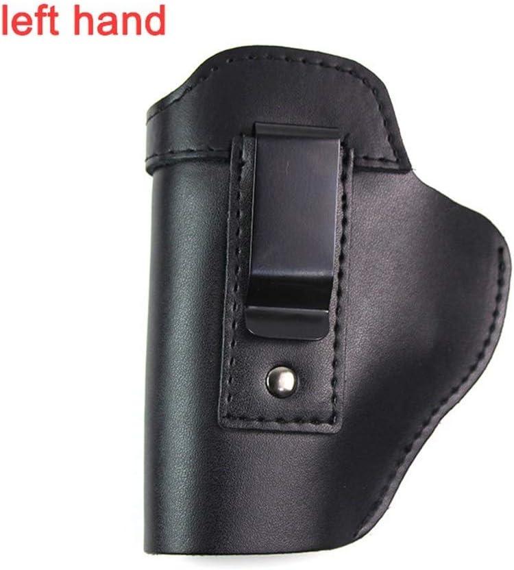 Vioaplem Pistolera de Cuero for la Glock 17 19 Beterra M9 Caso Colt 1911 Sig Sauer P226 H & KUSP Makarov Caza de Airsoft Pistola Oculta