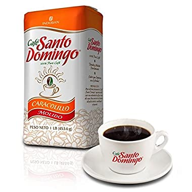 Santo Domingo Ground Coffee Cafe Caracolillo Exclusive Edition 1 Pound *NEW