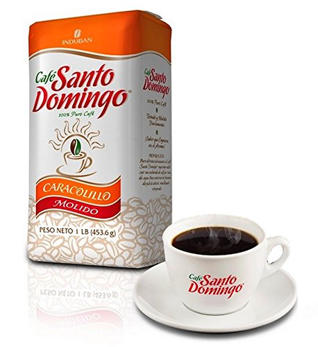 Santo Domingo Ground Coffee Cafe Caracolillo Exclusive Edition 1 Pound ()