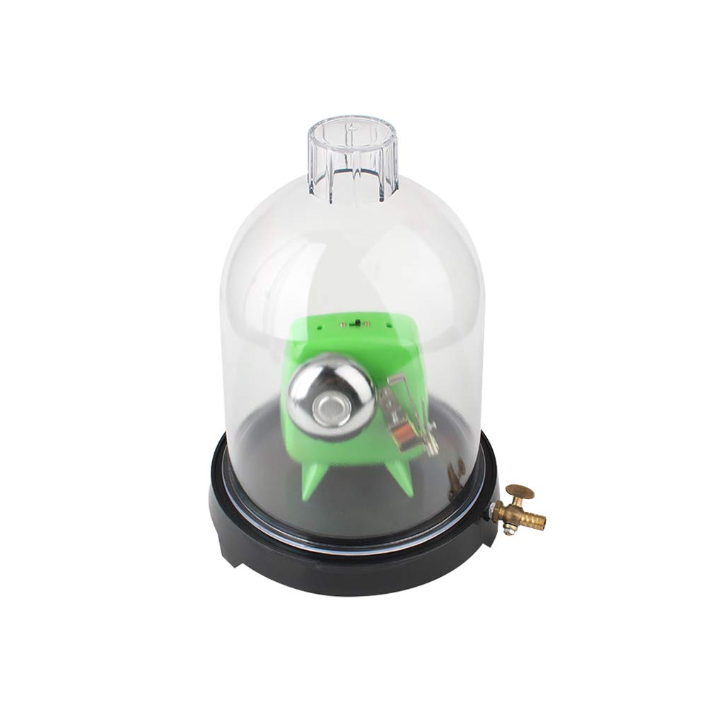 Vacuum Hood Suction Disc Bell in Vacuum Laboratory Plastic Jar Sound Physics Y by aikeec