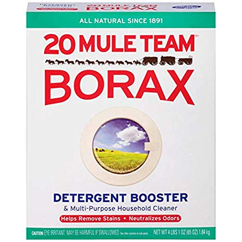Borax 20 Mule Team Detergent Booster & Multi-Purpose Household Cleaner Box, 65 Oz (1)