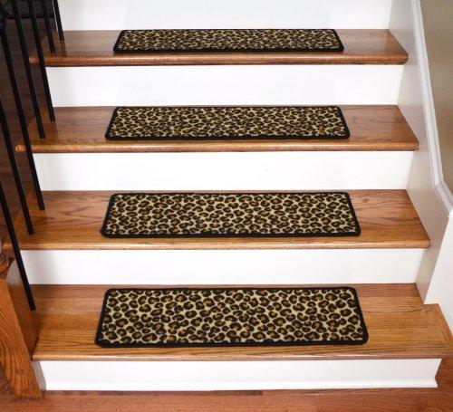 Pet Friendly Rugs Reviews: Dean Premium Non-Slip Pet Friendly Carpet Stair Treads