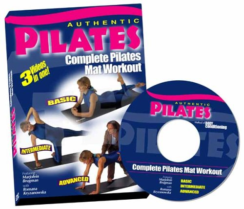 Stamina Authentic Pilates Complete Pilates Mat Workout DVD