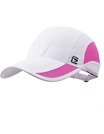 92557bd046a8 GADIEMKENSD Unstructured Baseball Cap Quick Dry Sports Hat Lightweight  Breathable …
