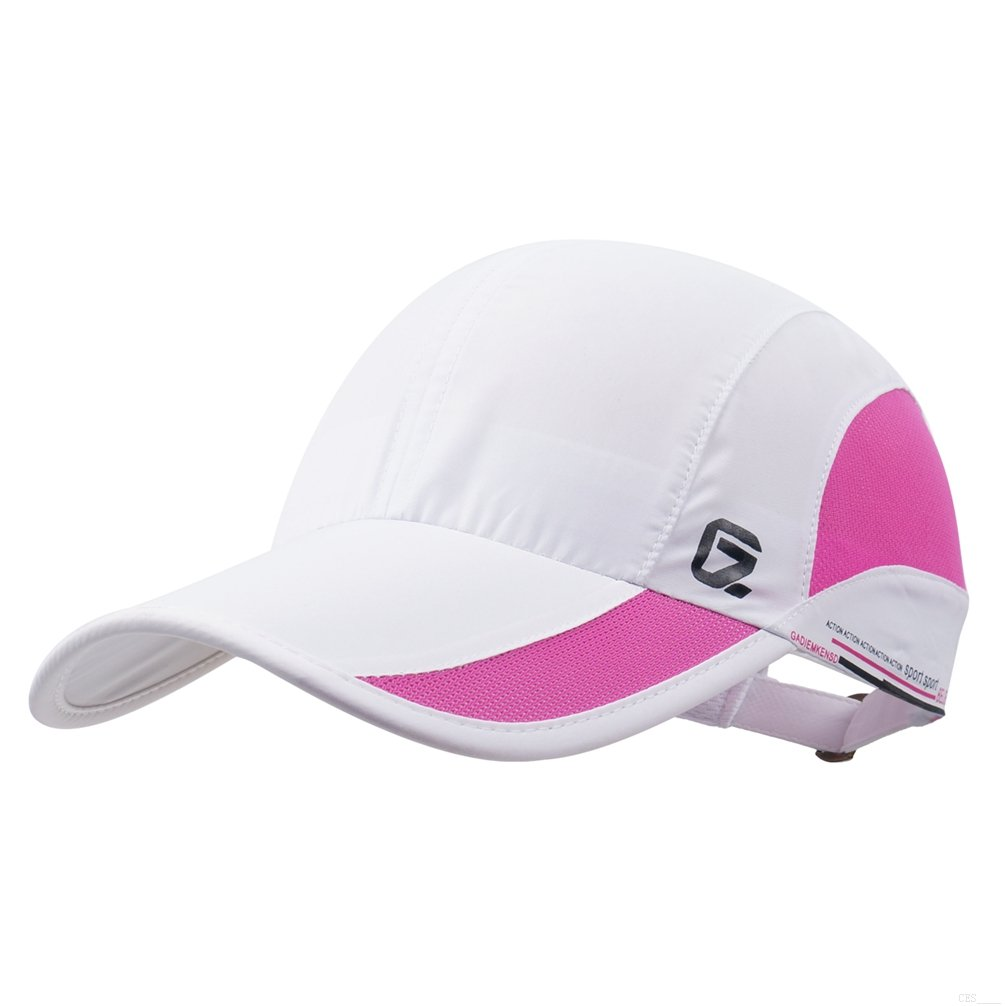 GADIEMKENSD Quick Dry Sports Hat Lightweight Breathable Soft Outdoor Run Cap   (Classic up 9fc2f5f00fc