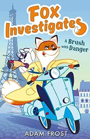 book cover of A Brush with Danger