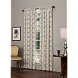 "Izmir Lined Rod Pocket Curtain Pair by Thomasville, 100""W x 84""L"