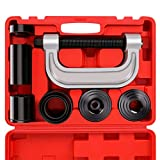 Orion Motor Tech Heavy Duty Ball Joint Press & U Joint Removal Separator Tool Kit with 4x4 Adapters, for Most 2WD and 4WD Cars and Light Trucks